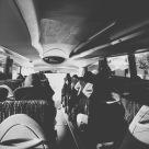 Im Bus nach Pamplona, nicht Platz 1a