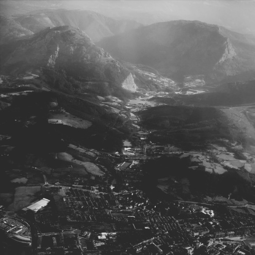 Anflug Bilbao
