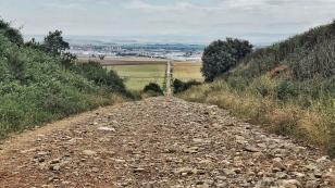 Steiniger Weg nach Domingo