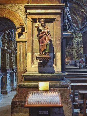 Kirche in Los Arcos. Jakobus.