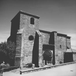 Kirche in Zariquiegui, auch in 'My way' zu sehen