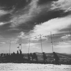 Alto de Perdon auf ca 750 m Höhe
