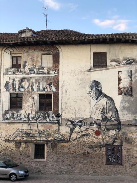 Graffiti in Belorado