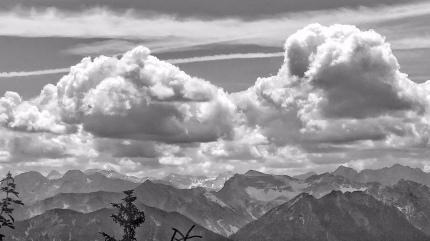 Richtung Karwendel