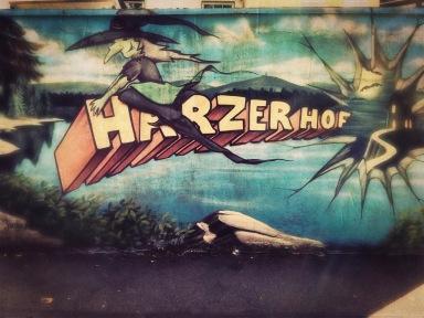 Graffiti Harzer Style